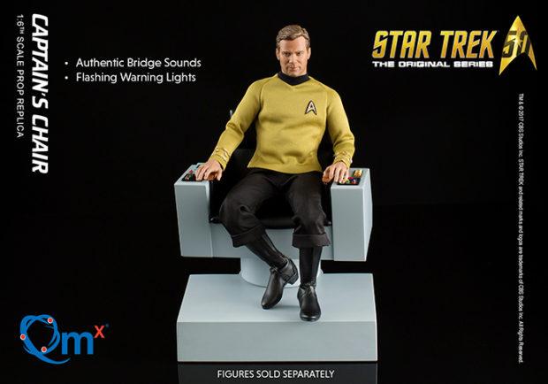 Tiny Star Trek TOS Captain's Chair Replica Is Ready for Command - Technabob