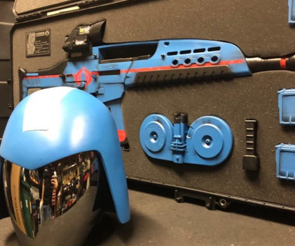 This Custom GI Joe Cobra Commander Assault Rifle Is the Real Deal