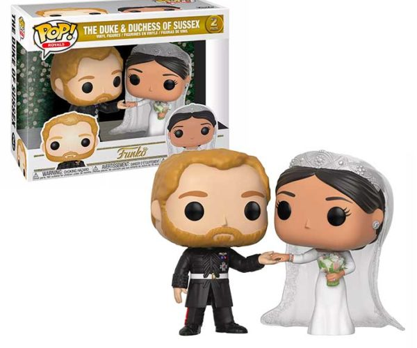 Duke and Duchess of Sussex Funko POP! Figures: Buy Some Royalty