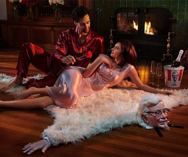 KFC Colonel Sanders Bearskin Rug: Whatthef*cky Fried Chicken