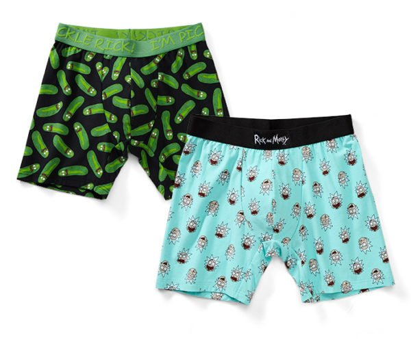 Rick and Morty Boxers Will Cover Your Pickle, Rick.