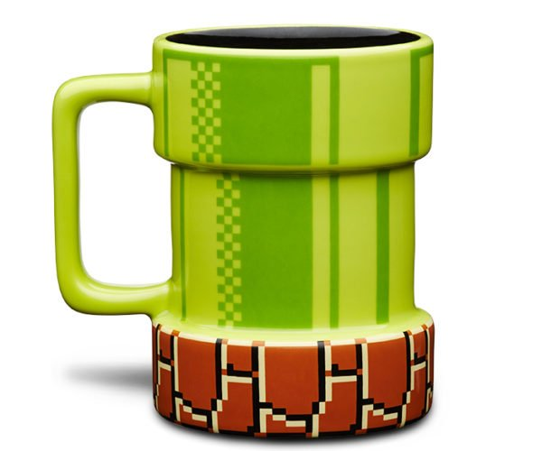 Super Mario Bros Pipe Mug Warps Caffeine into Your Plumbing
