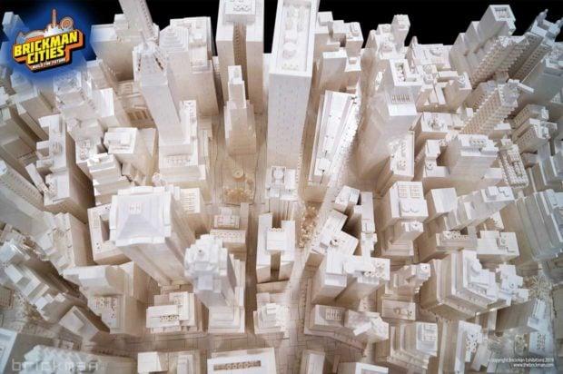 LEGO Pro Builds Manhattan in Bricks - Technabob