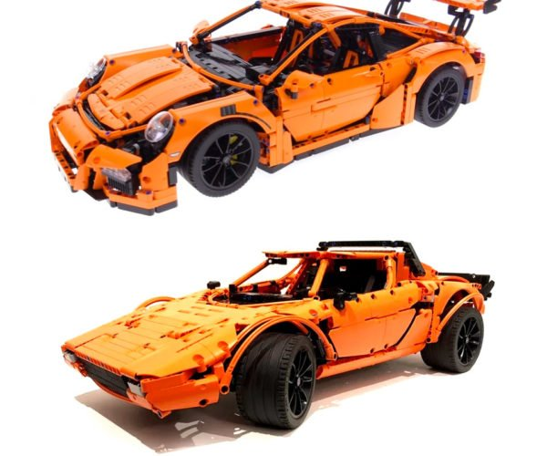 LEGO Porsche 911 GT3 RS Kit Can Also Build a Lancia Stratos Stradale