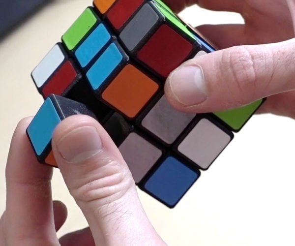 This Custom Rubik's Cube Is Held Together with Magnets