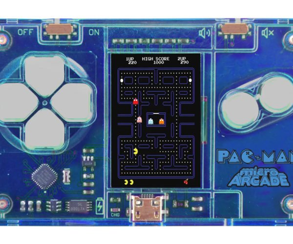 SuperImpulse MicroArcade Games Are The Size of a Credit Card