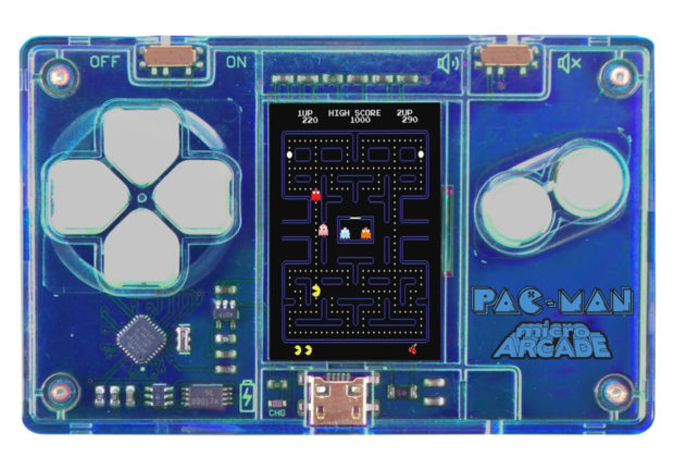 SuperImpulse MicroArcade Games Are The Size of a Credit Card - Technabob