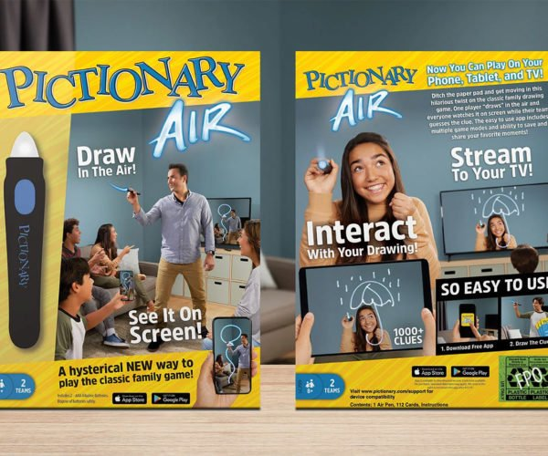 Pictionary Air Lets You Doodle Without Paper