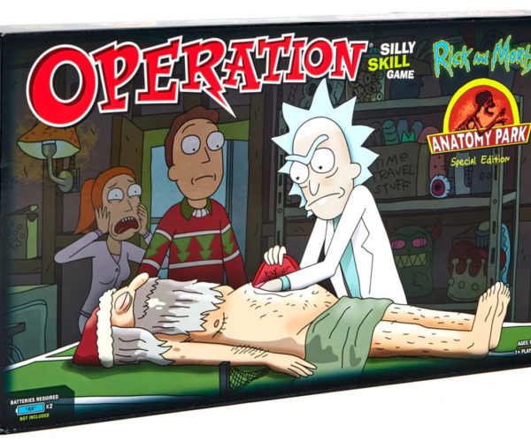 Rick and Morty Operation Game Lets You Remove a Sphincter