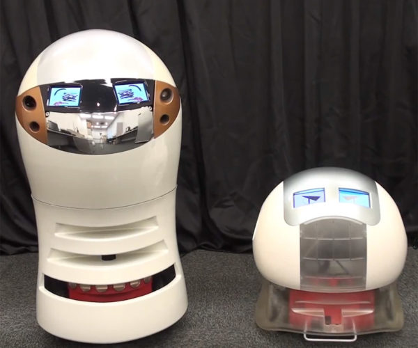 Robotic Comedy Duo Use AI to Perform Their Routine