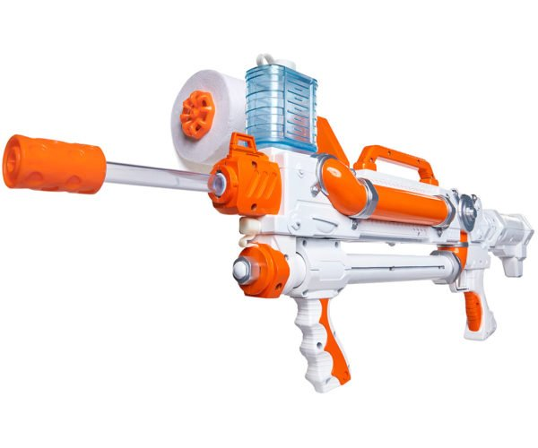 Skid Shot Toilet Paper Spitball Blaster Gets Rapid-Fire Upgrade, Brings a Sheet Storm