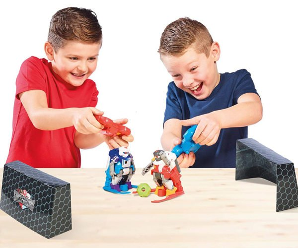 TOMY Soccerborgs Let Kids Play Robot Soccer