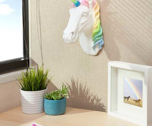 This Light Sconce Is Literally Rainbows and Unicorns