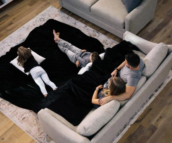 The Big Blanket Keeps Families Warm Together, for a Price