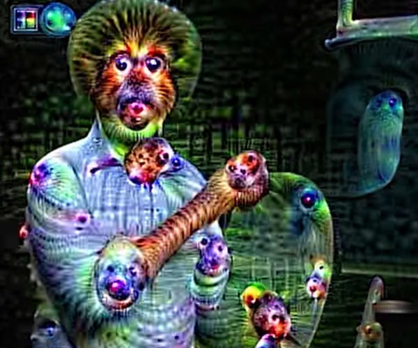 Bob Ross Video Processed via DeepDream: Trippy Little Trees
