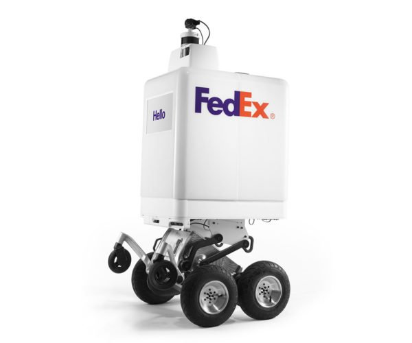 Pizza Hut is Exploring Delivery Via FedEx Robot