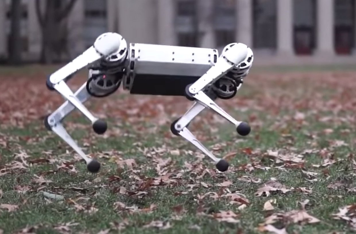MIT's creepy four-legged robot can now do backflips