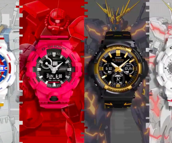 CASIO G-SHOCK Gundam Collection Puts a Mech on Your Wrist