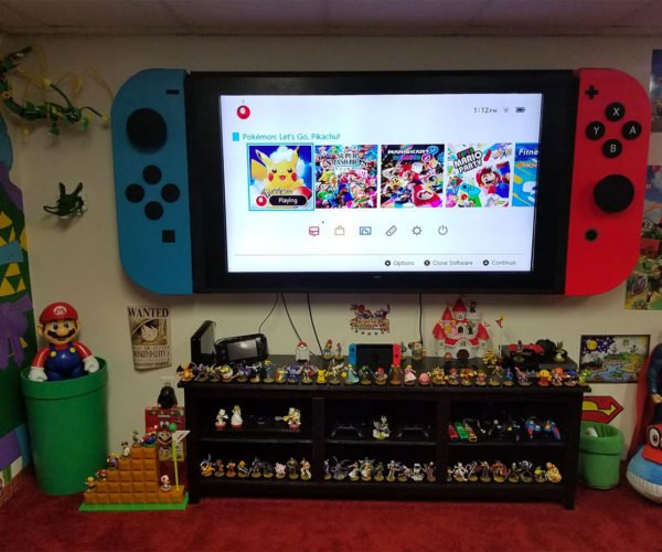 This 65-Inch TV Is a Giant Nintendo Switch