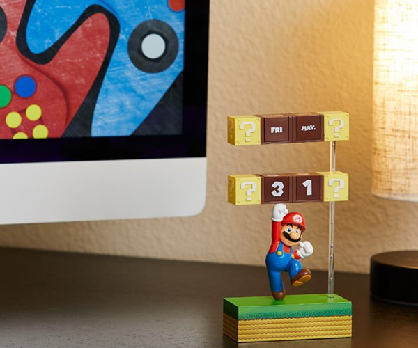 Mario Desk Calendar Keeps Track of Days, Not Coins