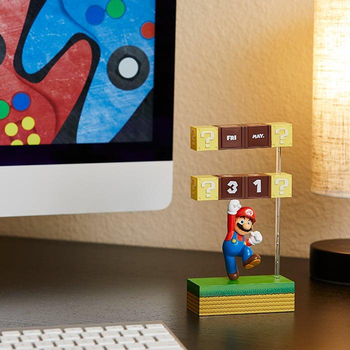 Mario Desk Calendar Keeps Track of Days, Not Coins