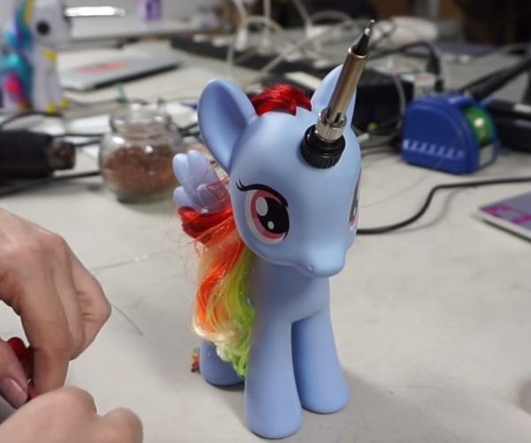 My Little Pony Soldering Iron: Friendship Is 3rd-degree Burns