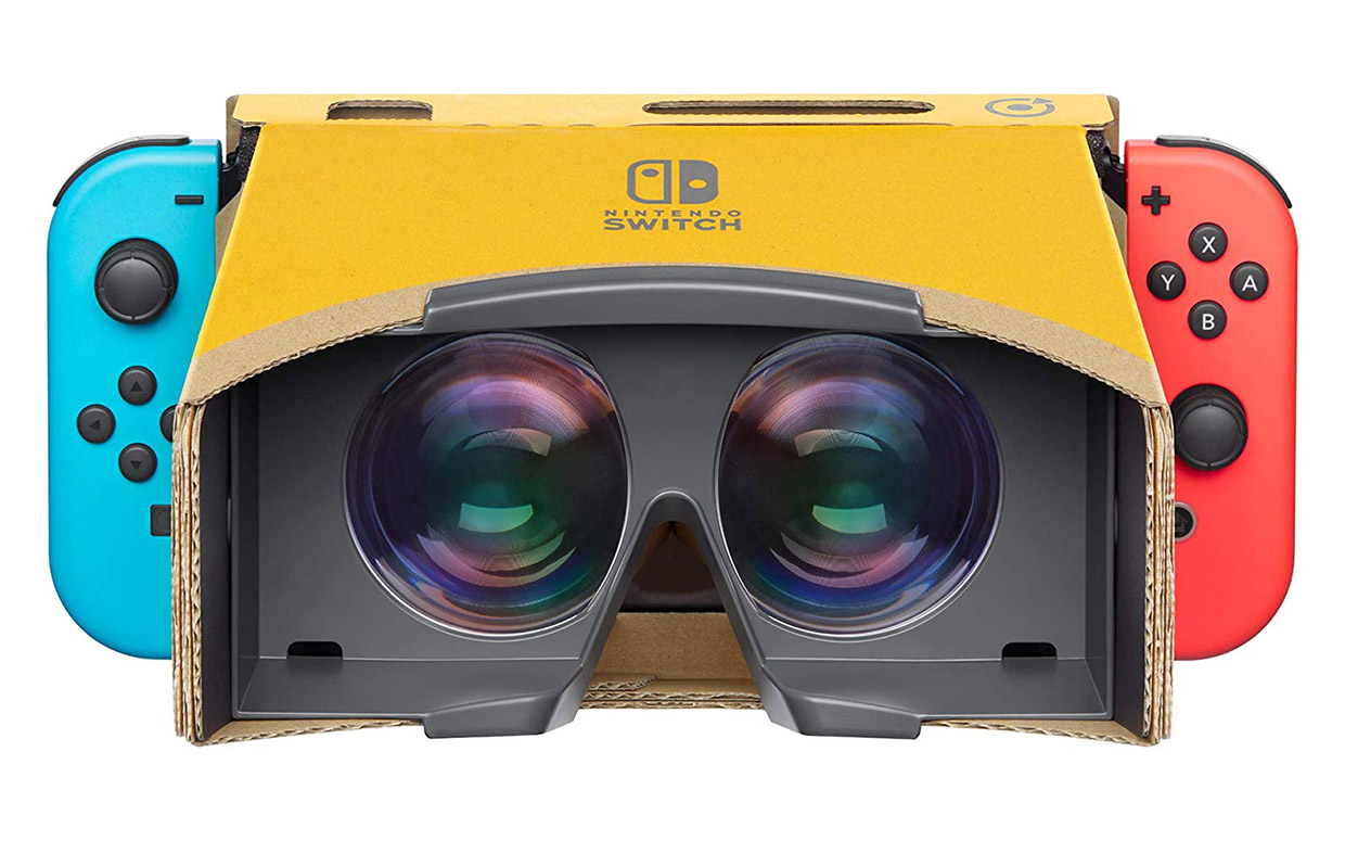 Now You Can Build a Nintendo Labo VR Headset