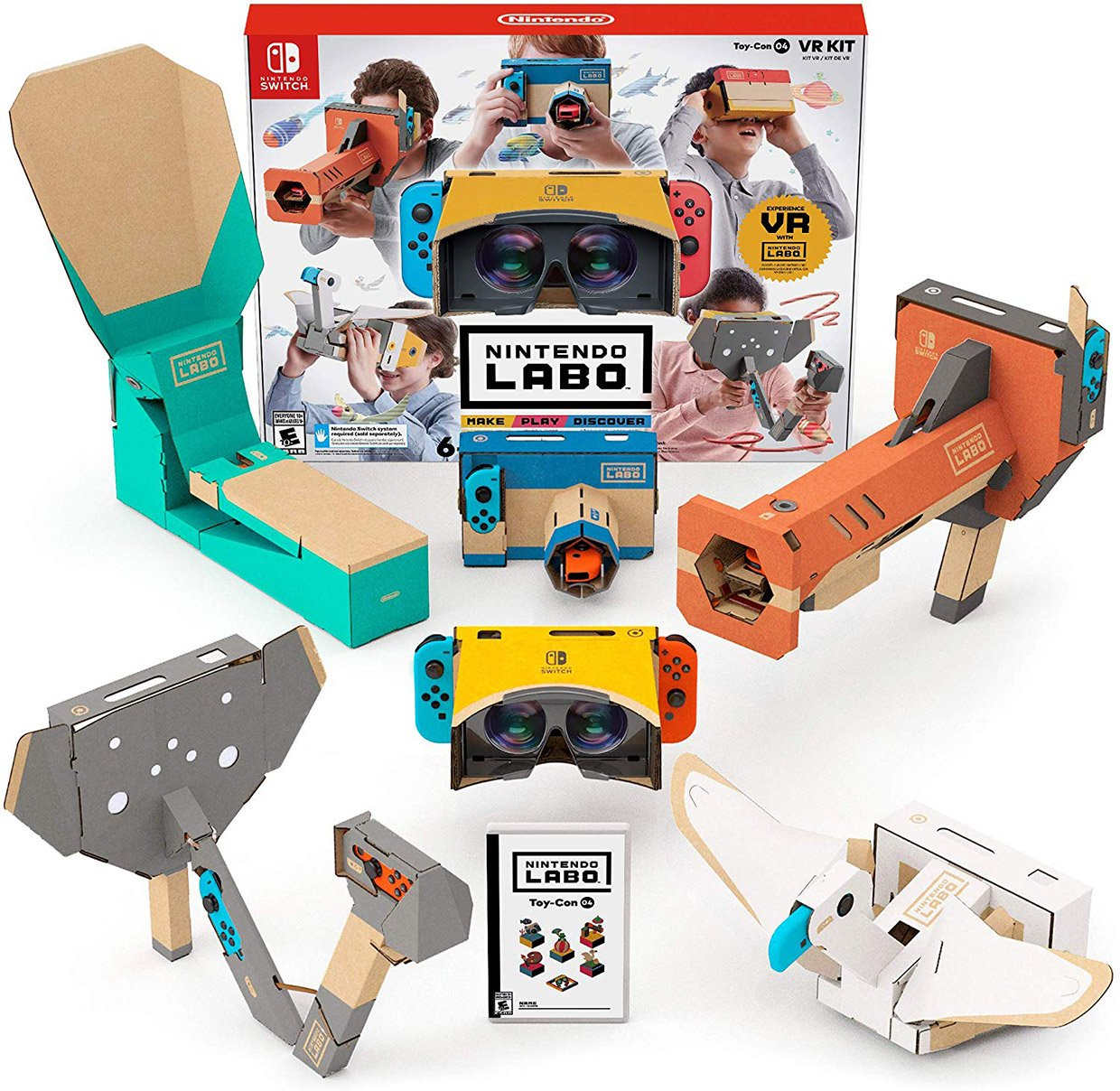 The Internet Reacts To Nintendo Labo: VR Kit