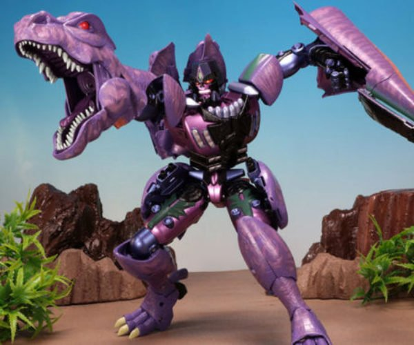 If Barney Was a Transformer, He'd Be this Megatron Beast Wars Figure
