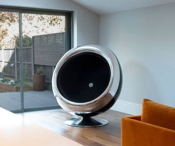 This Jet Engine Chair with Suck You in and Won't Let Go