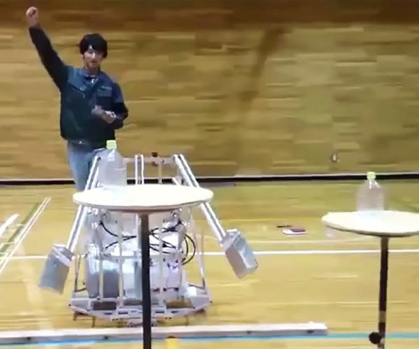 Water Bottle Flipping Robots Are a Thing Now
