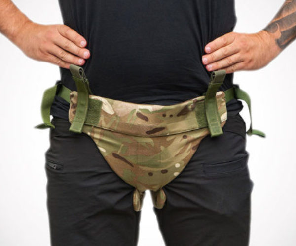 Bulletproof Men's Underwear Protects from Nut Shots
