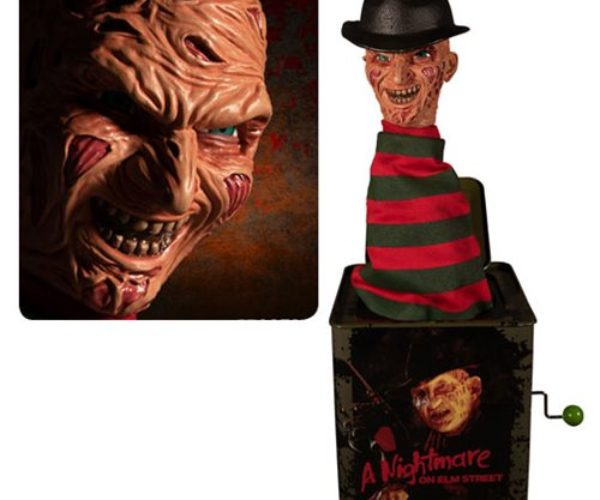 Traumatize Kids from an Early Age with This Freddy Krueger Jack-in-the-Box