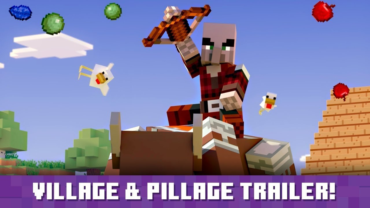 Minecraft Village & Pillage Update Adds Tons of New Fun