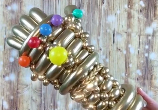 Balloon Infinity Gauntlet: Oh Snap!
