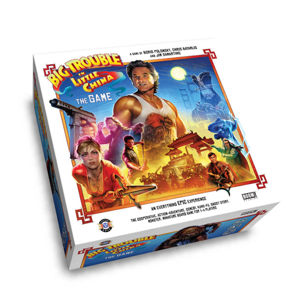 Big Trouble in Little China the Game: Never Roll the Dice Faster Than You Can See