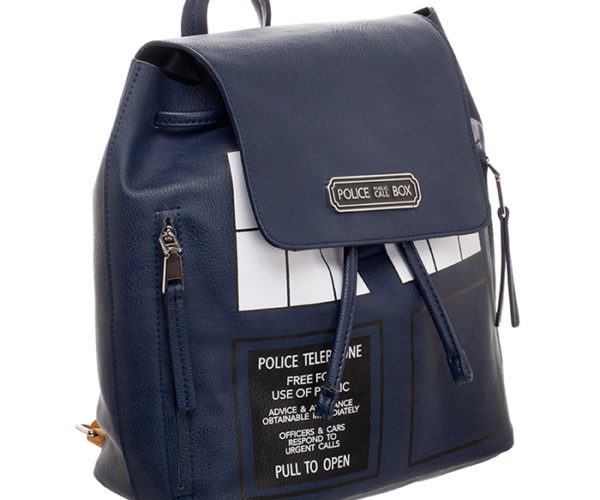 Doctor Who TARDIS Backpack Isn't Bigger on the Inside