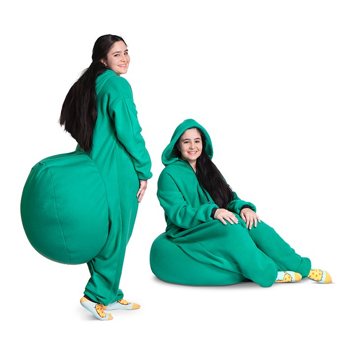 Bean Bag Onesie Oh My God Becky Look At That Prank
