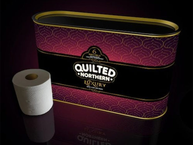Quilted Northern Luxury 4-Ply Toilet Paper: Oooh... Fancy Pants