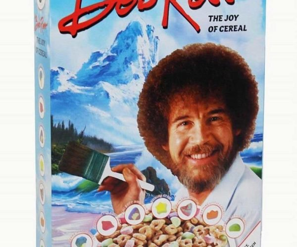 Bob Ross Cereal Doesn't Taste Like Oil Paint and Aqua Net