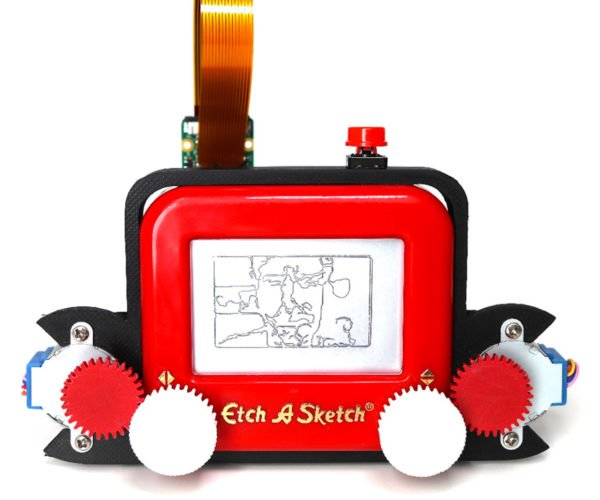 The Etch A Sketch Camera Draws What It Sees Automatically