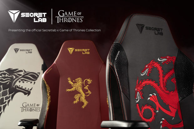 Game of Thrones Gaming Chairs: GoT Lumbar Support?