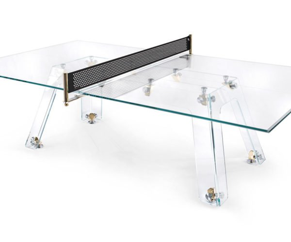 This Ping Pong Table Is Made from Crystal and Gold
