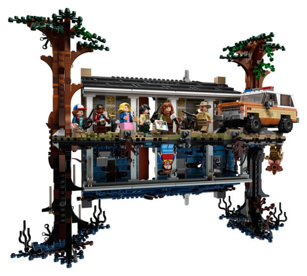 LEGO Goes to The Upside Down with Awesome Stranger Things Model