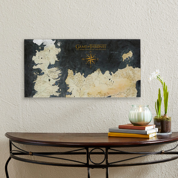 Game of Thrones Westeros Glass Map Isn't Made from Dragon Glass