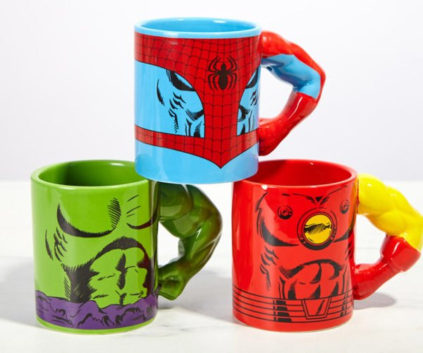 Star Wars and Marvel Meta Mugs: Arm Yourself with Caffeine