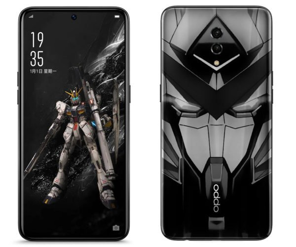 Gundam Fans to Get OPPO Smartphone