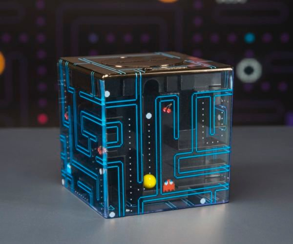 Pac-Man Procrastination Power Maze Safe: Gobble Dots to Withdraw Cash