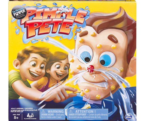 Dr. Pimple Popper's Pimple Pete Game: A Pus-itively Gross Game for Kids