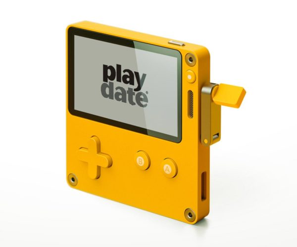Playdate Handheld Gaming System Goes Back to the Basics, Adds a Crank